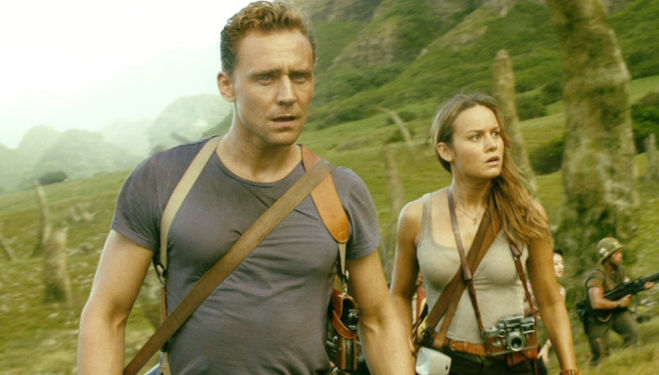 Brie Larson (Room), Tom Hiddleston (Thor) -  Kong: Skull Island, King Kong sequel