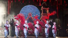 The spectacular designs for Turandot are by Sally Jacobs. Photograph: Tristram Kenton
