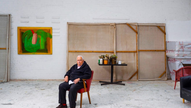 Howard Hodgkin Dead Howard Hodgkin Photo: David Levene