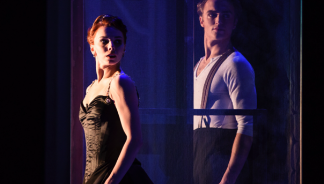 Natalia Osipova, Matthew Ball in Strapless, photo Bill Cooper