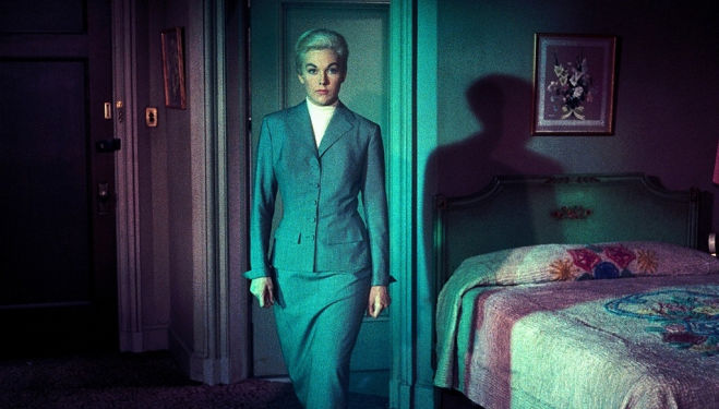 Kim Novak in Vertigo, Hitchcock's masterpiece at Fashion on Film