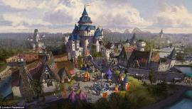UK Disneyland? Paramount Theme Park, Kent. Photo: Paramount