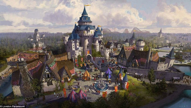 Get ready for a new Disneyland: £3.2 billion theme park comes to Kent