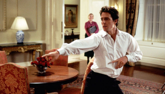Hugh Grant – Love, Actually dance