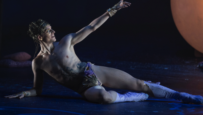 Project Polunin Production Images, Sergei Polunin as Narcissus