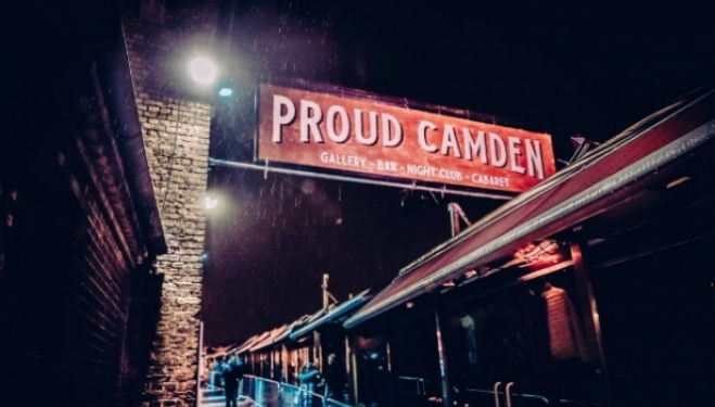 Refurbished rooftop garden, Proud Camden