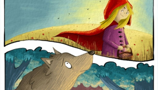 Red Riding Hood and the Wolf, Little Angel Theatre