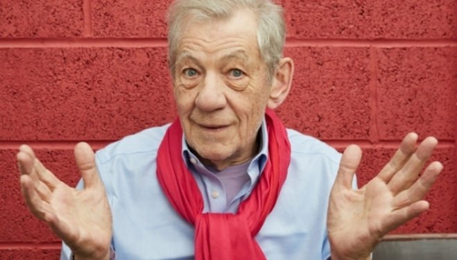 Sir Ian McKellen in Shakespeare, Tolkien, Others & You – Park Theatre 2017