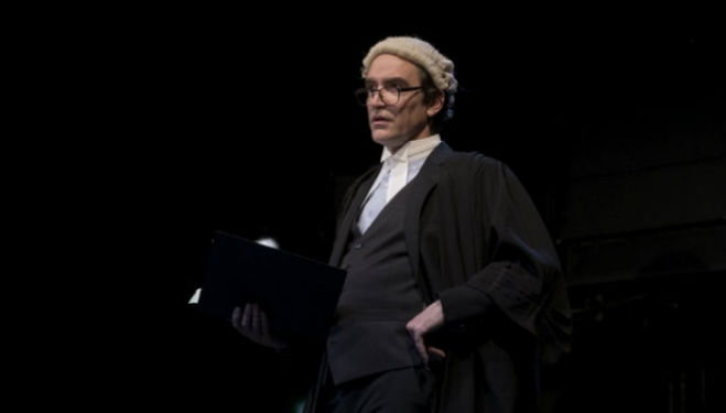 Ben Chaplin (Edward) in Consent by Nina Raine. Photo by Sarah Lee