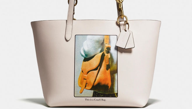 Bag within a bag: Coach & Rodarte fashion collaboration