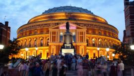 The Royal Albert Hall is the home of the BBC Proms
