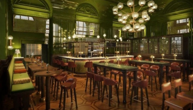 An modern version of the iconic British tavern is to open within the luxurious Langham hotel