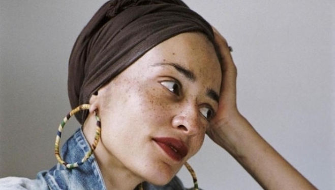 Zadie Smith comes to the Southbank Centre: photo by Dominique Nabokov
