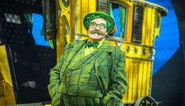 Rufus Hound as Mr Toad in the Wind in the Willows. Photo: Marc Brenner, Jamie Hendry Productions