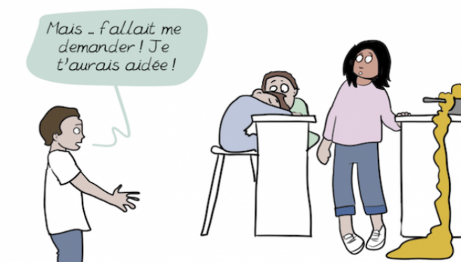 Emma, French Web Comic: our new feminist hero
