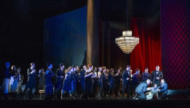 The 24-hour party life turns sour in La Traviata. Photo: Richard Hubert Smith