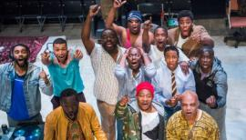 Barber Shop Chronicles, National Theatre review