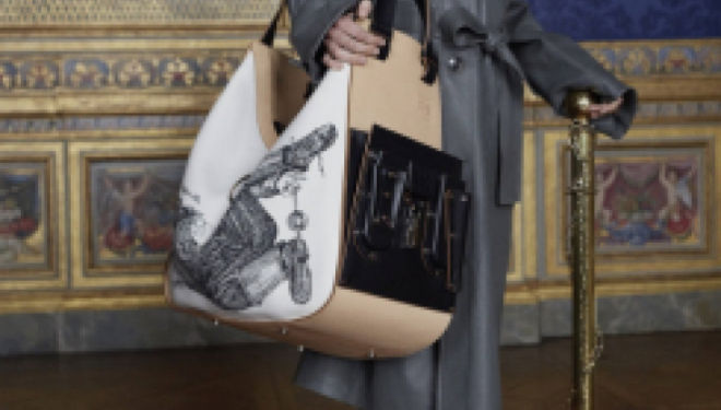 24 Sèvres: new luxury fashion online, including this limited edition Loewe bag