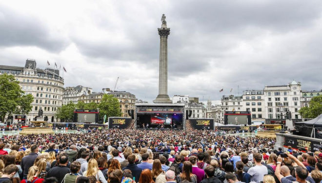 West End Live 2019, Trafalgar Square