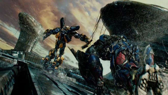 Transformers: The Last Knight film trailer