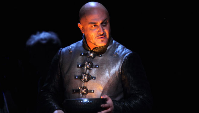 Marco Vratogna is a captivating Iago in the ROH's Otello. Photo: Catherine Ashmore
