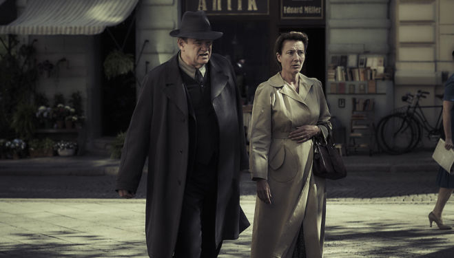 Emma Thompson and Brendan Gleeson star in Alone in Berlin