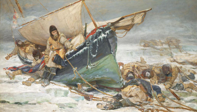 Death in the Ice: the Shocking Story of the Franklin Expedition, National Maritime Museum