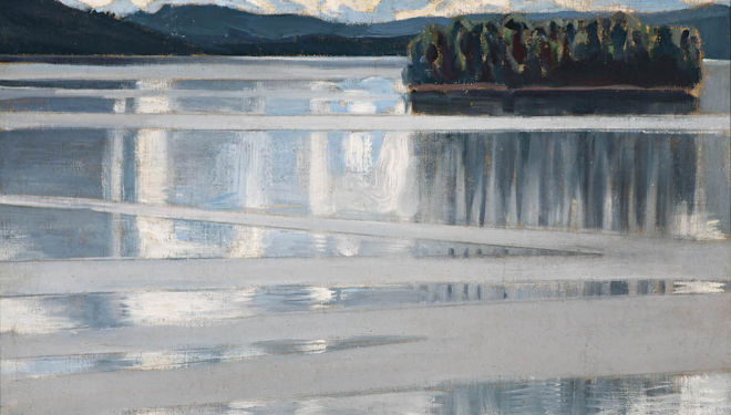 Lake Keitele: a Vision of Finland, the National Gallery