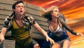Cara Delevingne and Dane DeHaan in 'Valerian and the City of a Thousand Planets'.