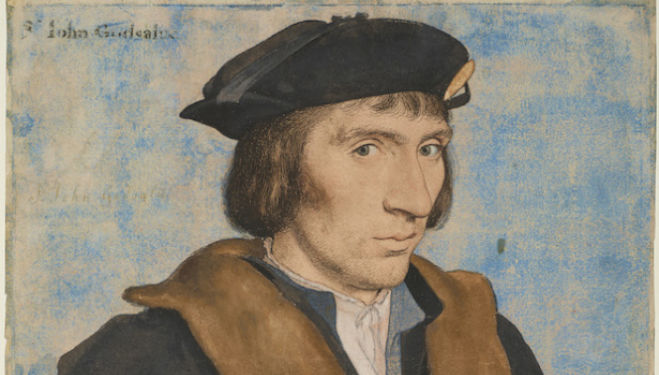 Hans Holbein the Younger, Sir John Godsalve, c.1532-4
