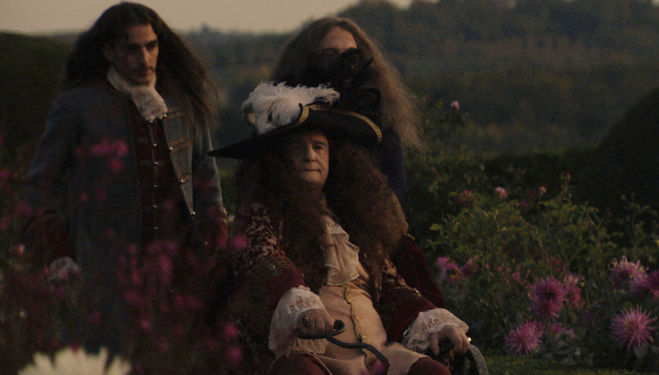 Jean-Pierre Léaud in 'The Death of Louis XIV', directed by Albert Serra.
