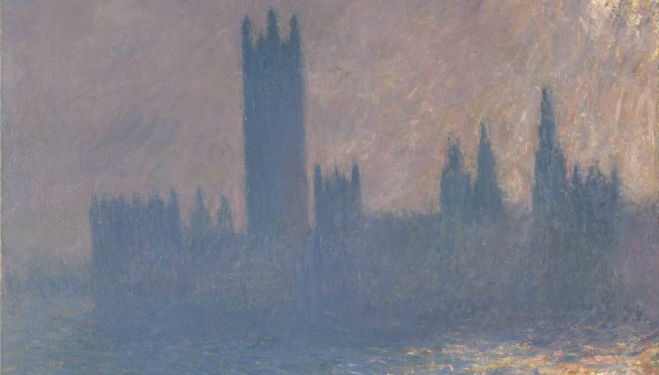 Claude Monet, Houses of Parliament, Sunlight Effect, 1903