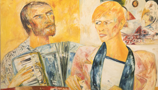 50 works by John Bellany to go on show at Fortnum & Mason