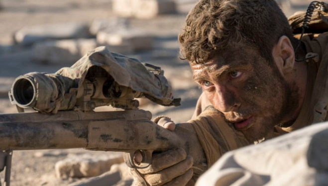 We review new Aaron Taylor-Johnson film The Wall