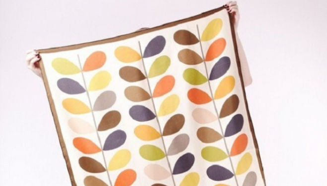 Orla Kiely: A Life in Pattern. That's a scarf and a half!