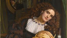 William Holman Hunt, Il Dolce Far Niente, 1866