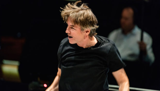 Esa-Pekka Salonen conducts the Philharmonia Orchestra. Photo: Mika Ranta
