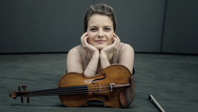 Veronika Eberle plays the meltingly lovely Mendelssohn Violin Concerto at the Barbican