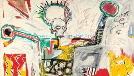 Jean-Michel BasquiatUntitled,1982Courtesy Museum Boijmans Van Beuningen, Rotterdam. © The Estate of Jean-Michel Basquiat. Licensed by Artestar, New York. Photo: Studio Tromp, Rotterdam