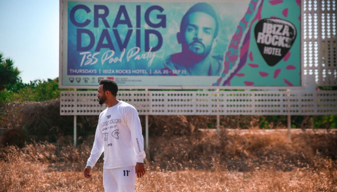 Craig David capsule collection for Selfridges