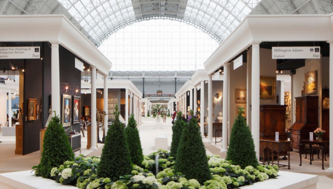 Winter Art & Antiques Fair, Olympia London