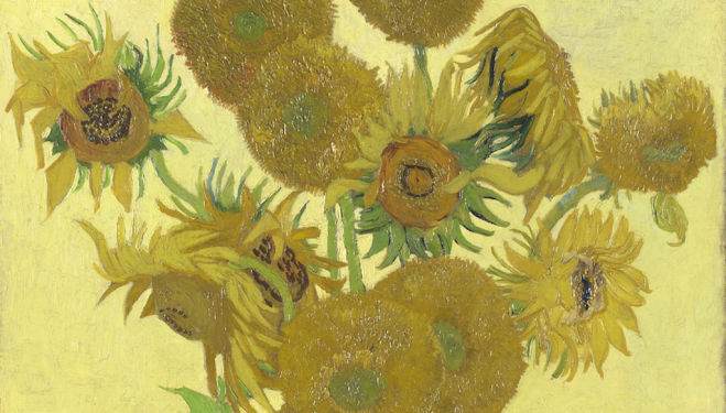 Five Van Gogh Sunflowers reunited for the first time