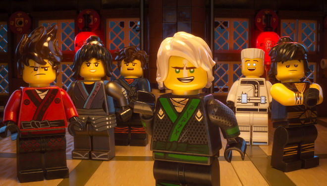 The Lego Ninjago Movie film