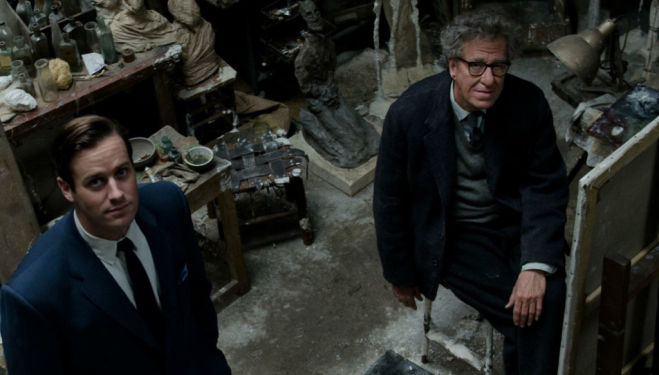 We review the new Giacometti biopic