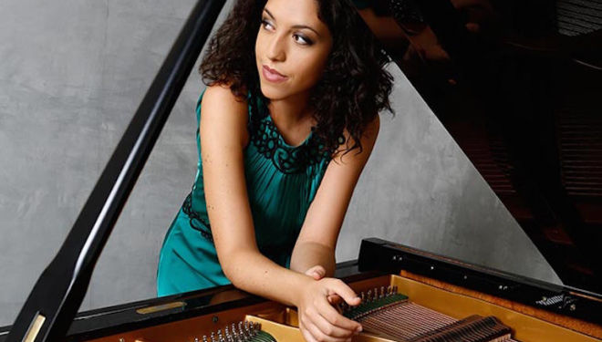 Beatrice Rana is one of the most exciting young pianists appearing today. Photo: Marie Staggat