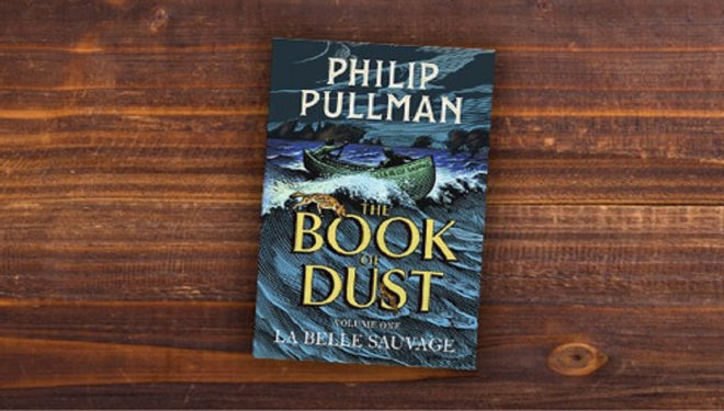 'Book of Dust' pre-midnight opening with Caitlin Moran and Mark Grist, Waterstones Tottenham Court Road