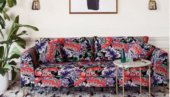 Liberty print homeware for Anthropologie: a swatch made in heaven