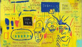 Jean-Michel Basquiat, Hollywood Africans, 1983. Courtesy Whitney Museum of American Art, New York.© The Estate of Jean-Michel Basquiat/ Artists Rights Society (ARS), New York/ ADAGP, Paris. Licensed by Artestar, New York
