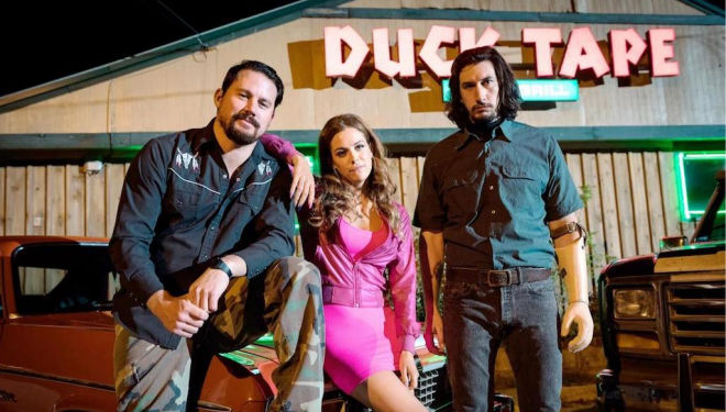 Logan Lucky film - Channing Tatum, Riley Keough, Adam Driver