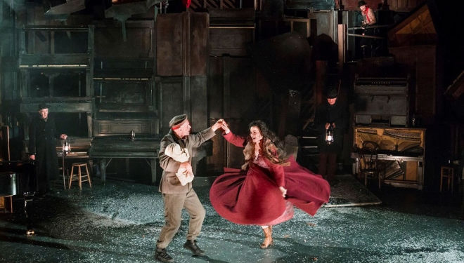 Woyzeck in Winter, Barbican